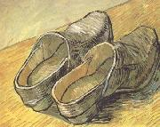 Vincent Van Gogh, A pair of wooden Clogs (nn04)