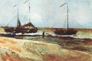 Vincent Van Gogh, Beach at Scheveningen in Calm Weather (nn04)