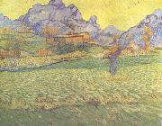 Vincent Van Gogh, A Meadow in the Mounatains:Le Mas de Saint-Paul (nn04)