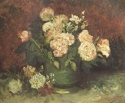 Vincent Van Gogh, Bowl wtih Peonies and Roses (nn04)