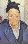 Vincent Van Gogh, An Old Woman of Arles (nn04)