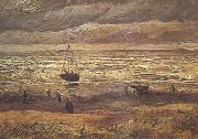 Vincent Van Gogh, Beach at Scheveningen in Stormy Weather (nn04)