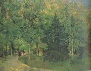 Vincent Van Gogh, A Lane in the Public Garden at Arles (nn04)