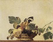 Caravaggio, Basket of Fruit