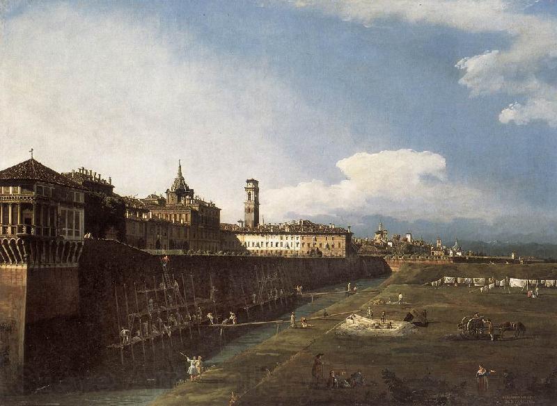 la vue de turin pr s du palais royal bellotto bernardo les reproductions en gros de peinture. Black Bedroom Furniture Sets. Home Design Ideas