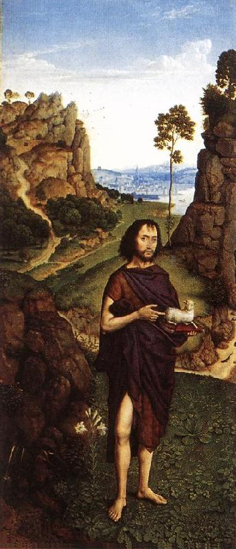 Dieric Bouts St John the Baptist