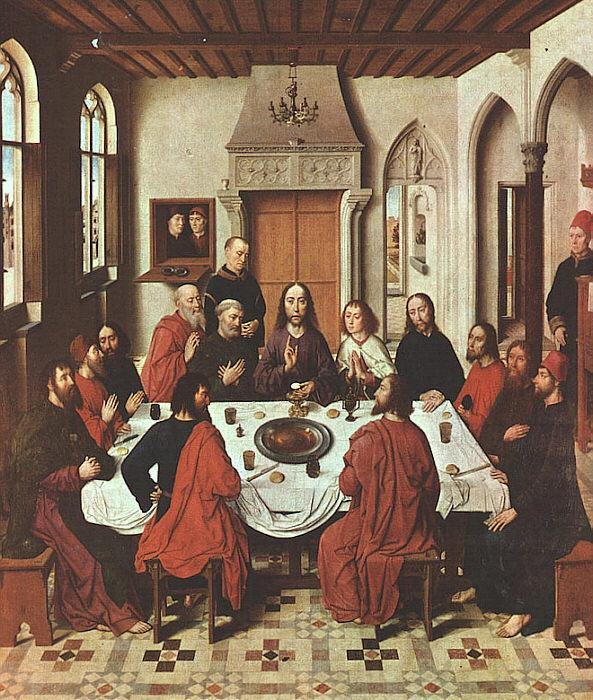 The Last Supper Dieric Bouts Malmo Sweden Oil Painting ...