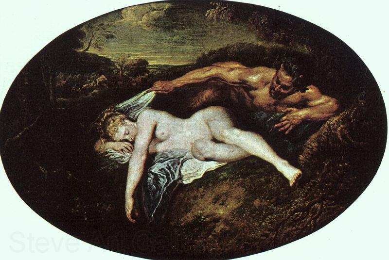 Jean-Antoine Watteau Jupiter and Antiope