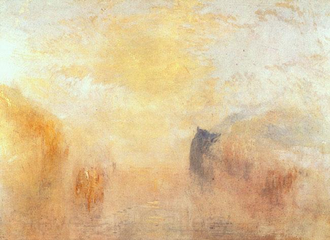 Joseph Mallord William Turner Sunrise Between Two Headlands