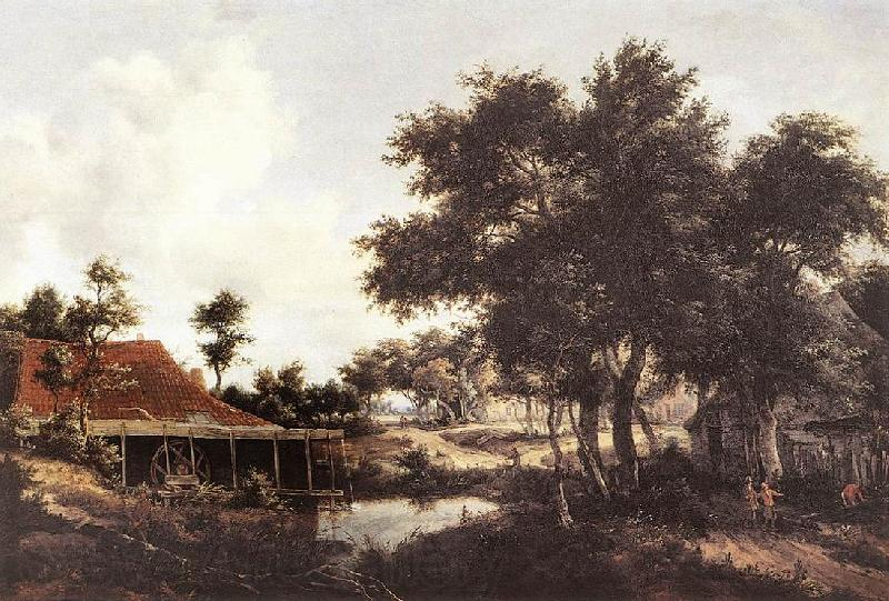 Meindert Hobbema The Water Mill