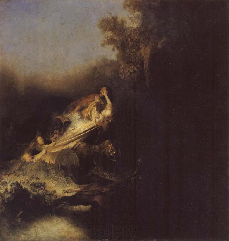 REMBRANDT Harmenszoon van Rijn The Abduction of Proserpine