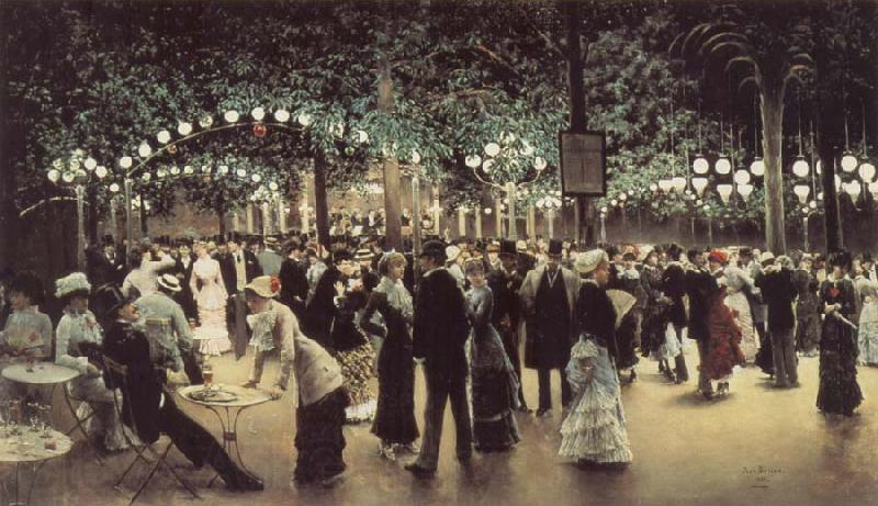 Jean Beraud The Public Dance
