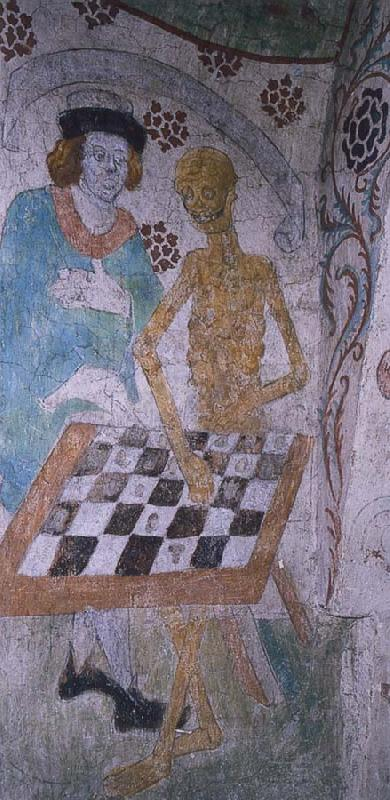 unknow artist A husband am acting chess with doden