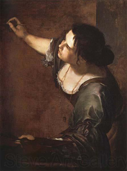 Artemisia gentileschi Self-Portrait as an Allegory of Painting