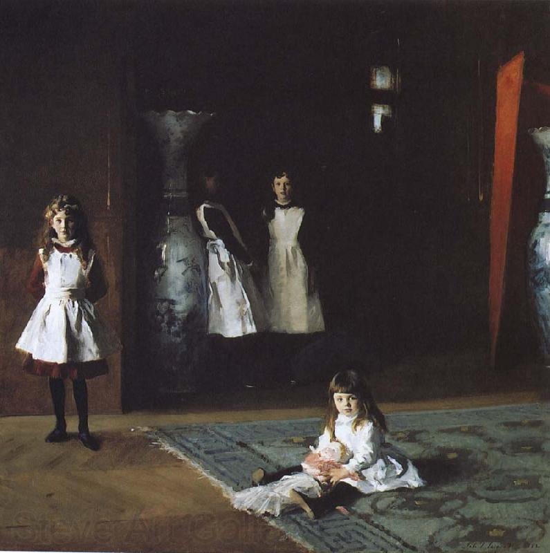 John Singer Sargent Bo Aite daughters