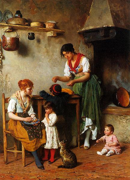 unknow artist A Helping Hand 1884