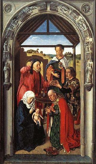 Dieric Bouts The Adoration of the Magi