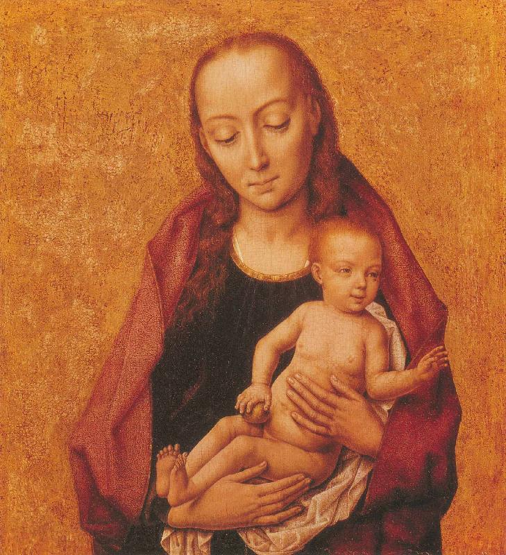 Dieric Bouts Virgin and Child
