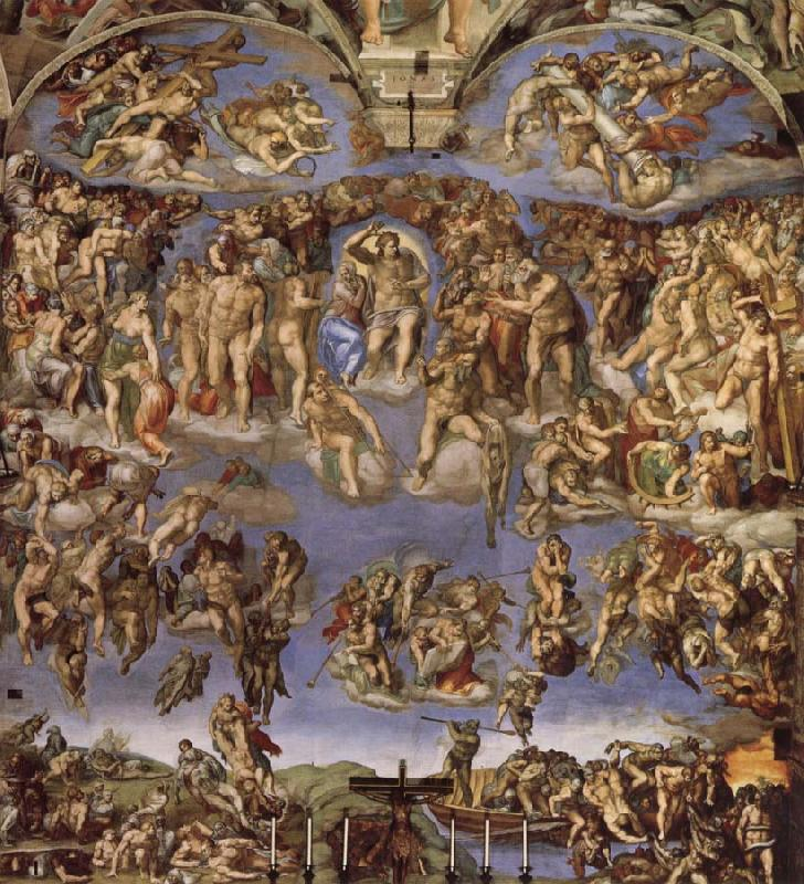 michelangelo buonarrotis the last judgement essay He was born michelangelo di lodovico buonarroti simoni on 6th march 1475 in caprese near arrezo, italy in addition, he was a painter, architect, poet, sculptor and engineer, a jack of all trades.