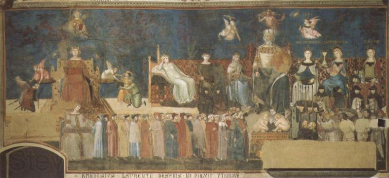 Ambrogio Lorenzetti Allegory of Good and Bad Government